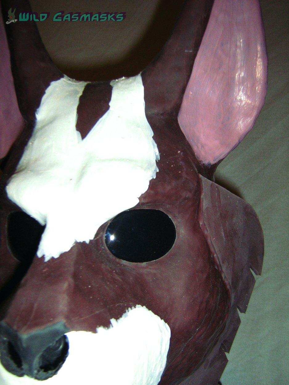 Wolfskunk Redwolf - Closeup