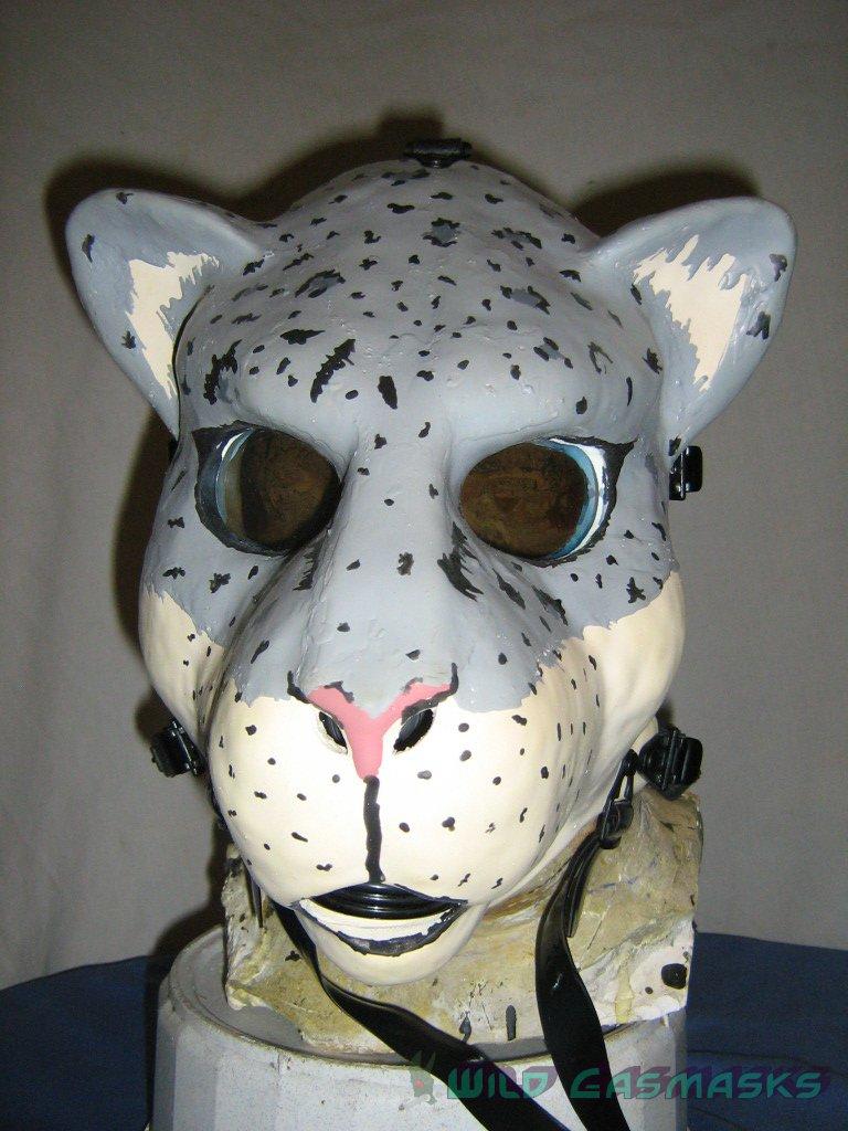 Snow Leopard 1 - Front View
