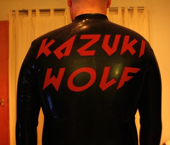 Kazuki Wolfs Custom Lettering