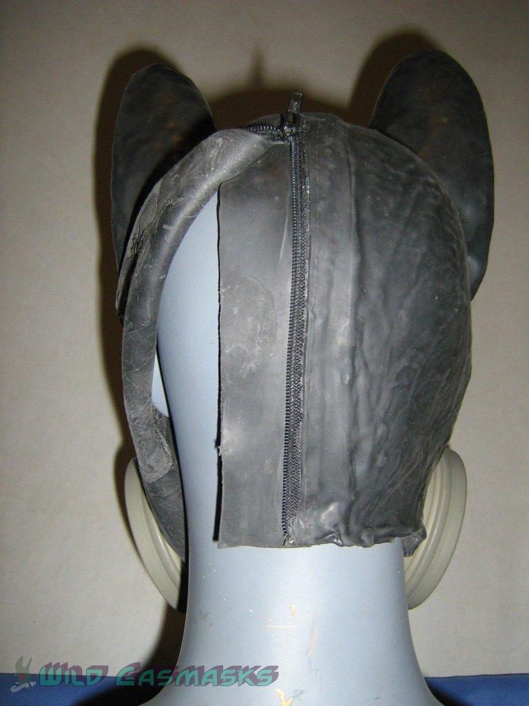 Cyberwuff - Back Zipper Unzipped