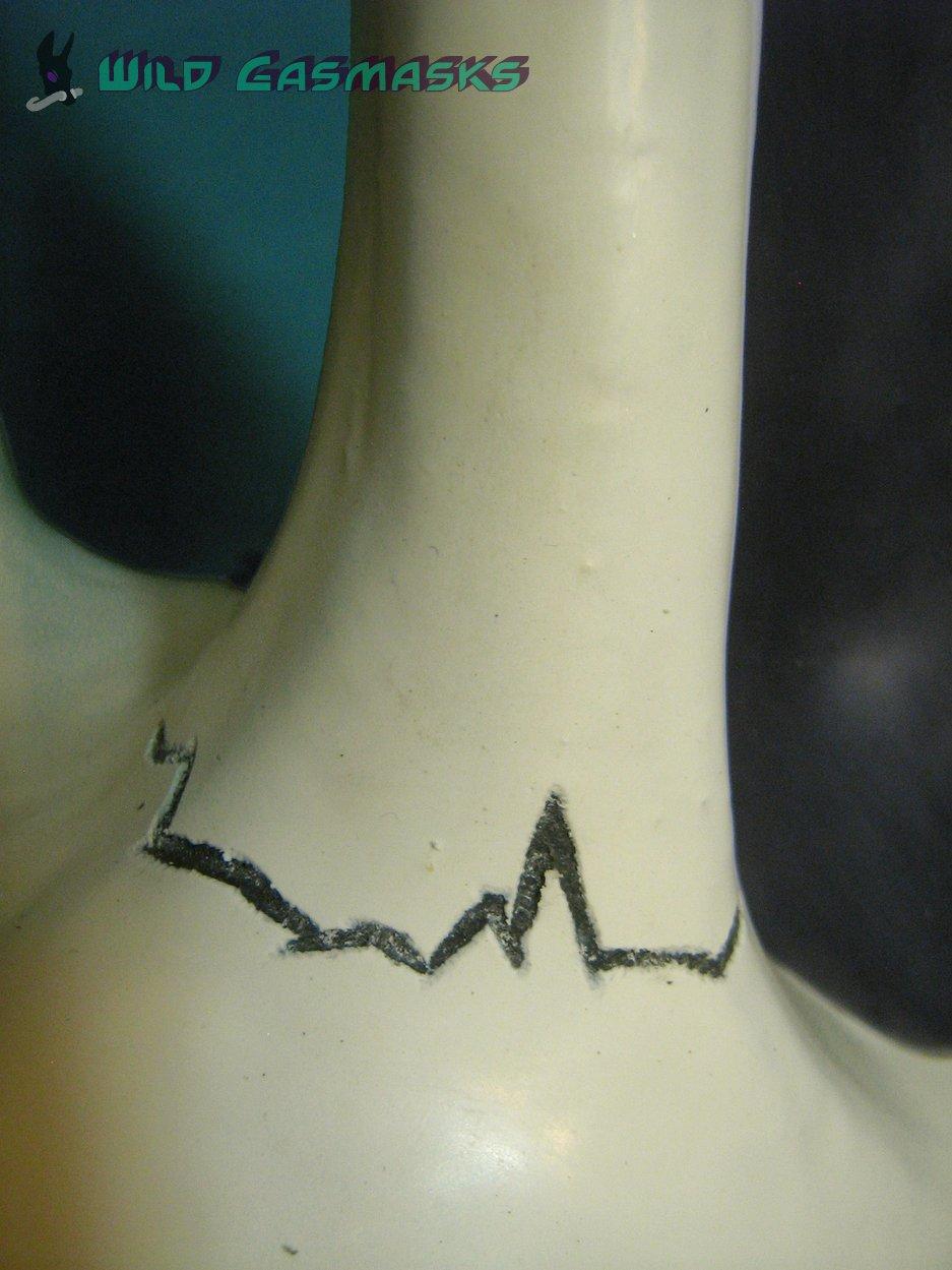 Skull Jackal - Ear Detail