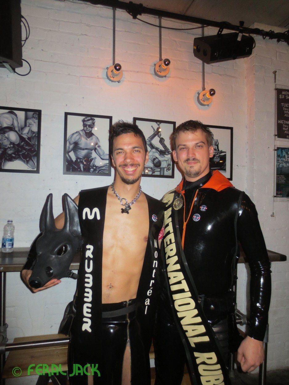 Feral Jack and Mr International Rubber