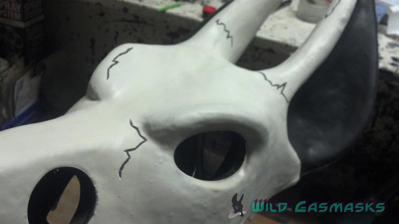 Skull Jackal Prelim - Detail 2