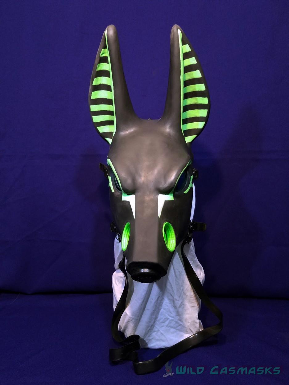 UV Green Godpaint Jackal 2 - Front View