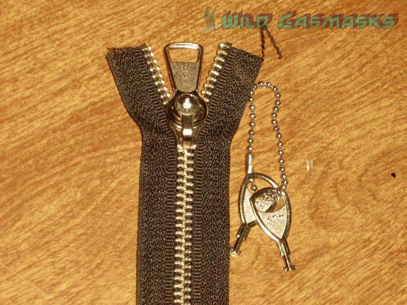 Locking Zipper - Slider on Zipper Chain