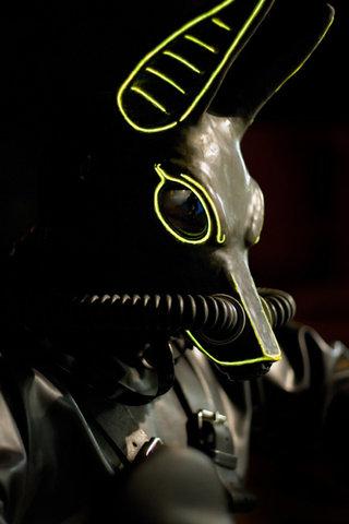 Smashwolf Noir in Profile