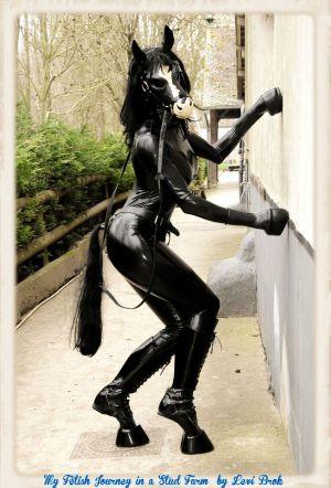 Gaelle Posing On Wall