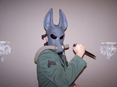 Konar with Knife