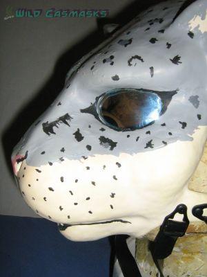 Snow Leopard 1 - Side View