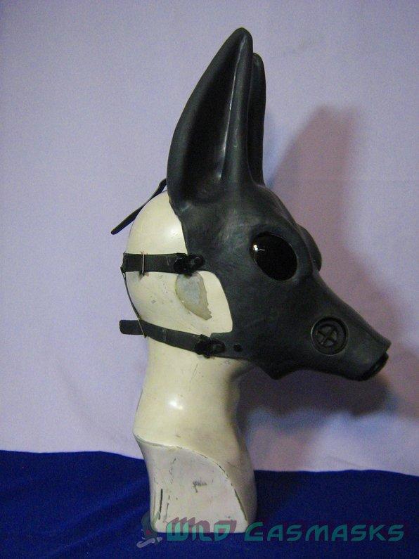 latex gas mask Jackal
